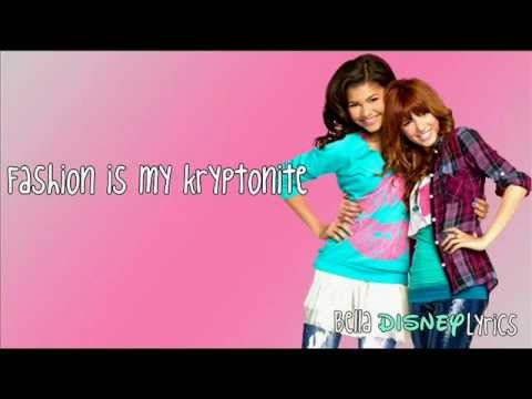 """Fashion Is My Kryptonite"" - Bella Thorne & Zendaya (Lyrics Video) [OFFICIAL"