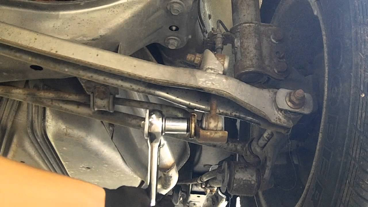 Mazda 626 Sway Bar Install Youtube