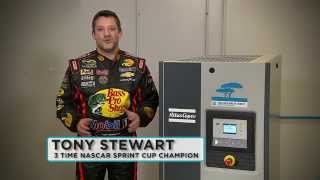 "Tony Stewart - ""The compressor is running, Tony!"""