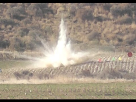 Best Tannerite Video on YouTube - Long Range 1016 Yards Exploding Pumpkins!