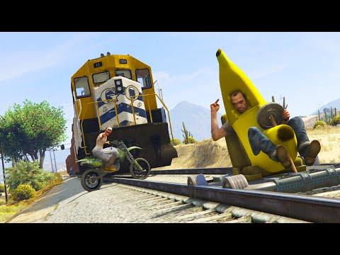 GTA 5 FAILS & RANDOM MOMENTS: #25 (GTA 5 Funny Moments Compilation PC)