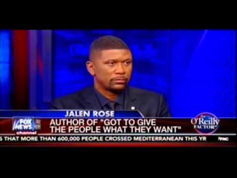 Bill O'Reilly vs Jalen Rose on Black Lives Matter