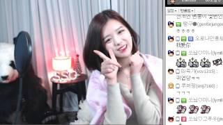 Korea Ssonim 尹素婉 bj girl live dance Vol.5