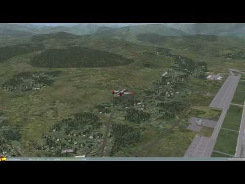 DCS A-10C: Overhead landing pattern