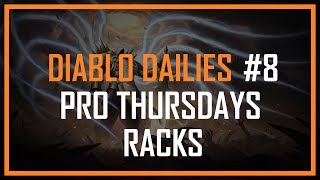 DIABLO DAILIES #8 - PRO THURSDAYS: WEAPON/ARMOR RACKS