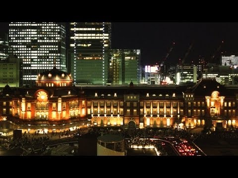 Restored Tokyo Station Building Unveiled [iPhone 4S/HD]
