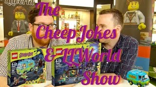 The CheepJokes & LLWorld Show - Episode 5 - LEGO talk show featuring HarleyQuin