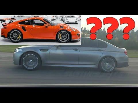 BMW M5 F10 vs Porsche 911 GT3 RS PDK 991 both stock