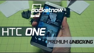 HTC One_ Premium Unboxing & Hardware Tour