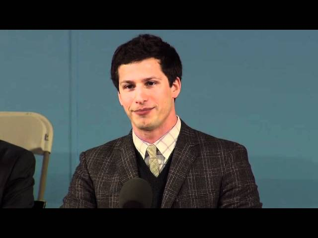 Andy Samberg Class Day || Harvard Commencement 2012