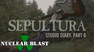 SEPULTURA - Machine Messiah: Studio Diary  - Guitars (Trailer #6)