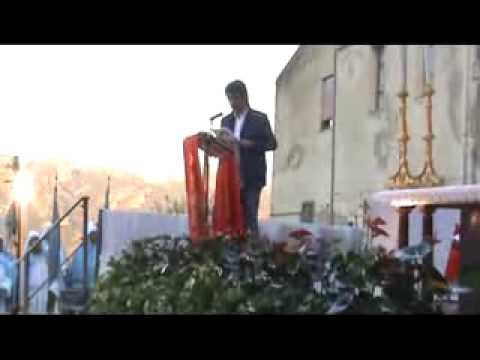 Rito di ingresso di Padre Pietro Antonio Ruggiero parte 2 a Gagliano Castelferrato EN