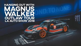 Hanging out with Magnus Walker at the LA Auto Show 2018