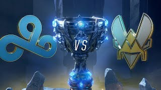 C9 vs VIT | Worlds Group Stage Day 5 | Cloud9 vs Team Vitality (2018)