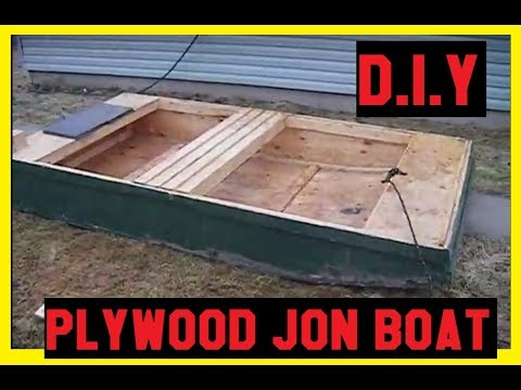 Diy Plywood Jon Boat Cheap Youtube
