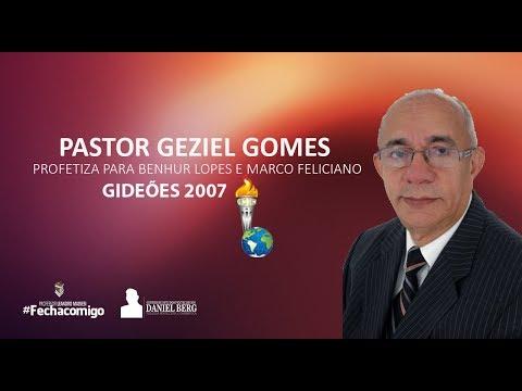 Pr. Geziel Gomes profetiza para Pr. Marco Feliciano - Impactante