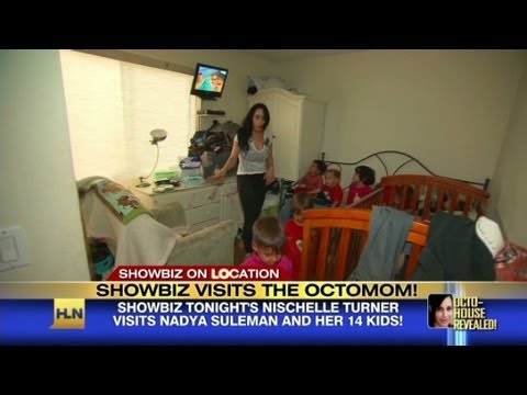 Inside 'Octomom's' home