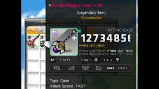 MapleStory Arcane vs. Fafnir Weapon!
