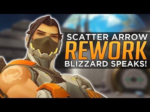 Overwatch: Hanzo Piercing Arrow! - Blizzard Talks REWORK!