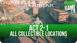 Quantum Break Act 2-1 Collectibles Locations (Industrial Area)