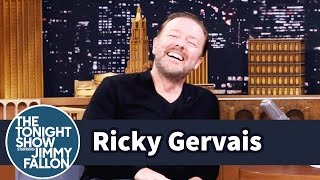 Ricky Gervais Won't Wear a Wig Despite Going Bald