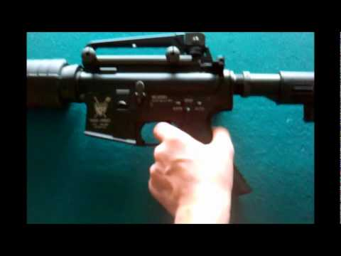 King Arms Colt M4A1 Carbine Review + Shooting Test