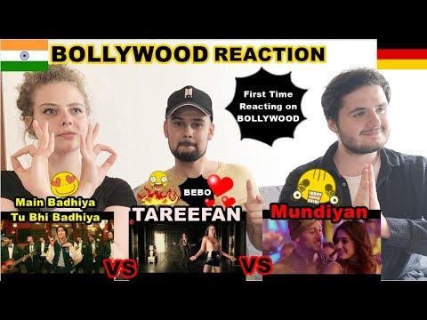 """Download Lagu  Reaction German Friends watching first time Bollywood  s """"Mundiyan"""" """"Tareefan"""" """"Sanju"""" Mp3 Free"""