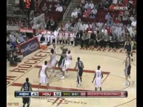 Houston Rockets Highlights vs. Grizzlies 11/11/2009 Video