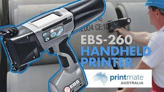 EBS 260 Handjet PrintMate Australia
