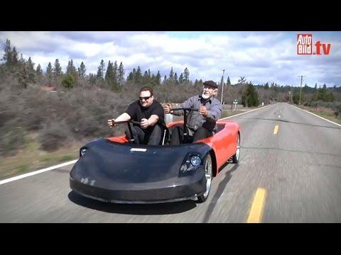 Human Car - Bizeps Statt Benzin