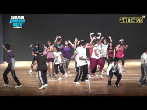 Tera Naam Japdi Phiran - SHIAMAK'S Monsoon Masti Batch   Mumbai 2012