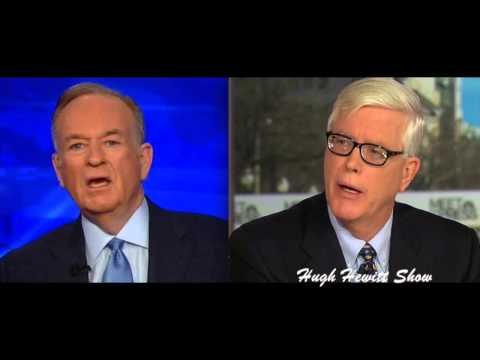 Hugh Hewitt Grills Bill O'Reilly on Claims of Fabricating War Zone Experience