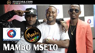 Darassa Live On Mambo Mseto(Radio Citizen) With Mzazi Willy Tuva & Dj FlashKenya