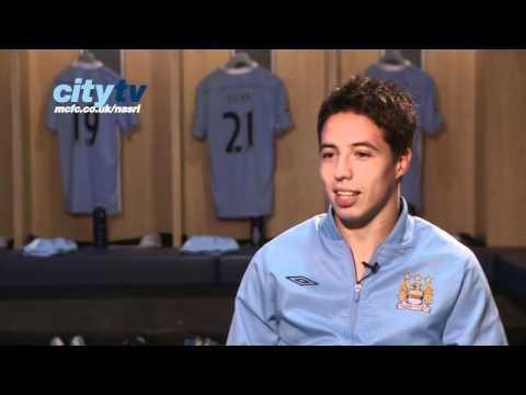 Manchester City's Samir Nasri Exclusive Interview - Part One