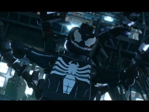 Lego marvel superheroes venom boss