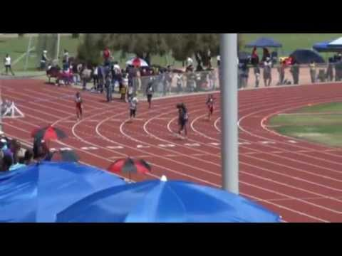 Huron Athletics - Dajah's 400m