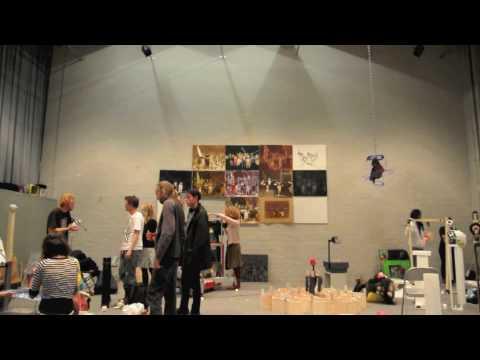 we got em goin - Rietveld Academy Exhibit Preparation