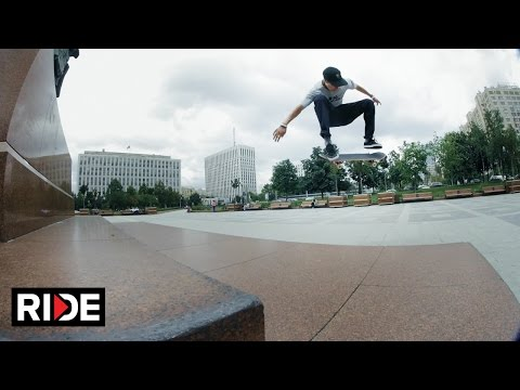 Egor Kaldikov and Friends Skate the Streets of Moscow