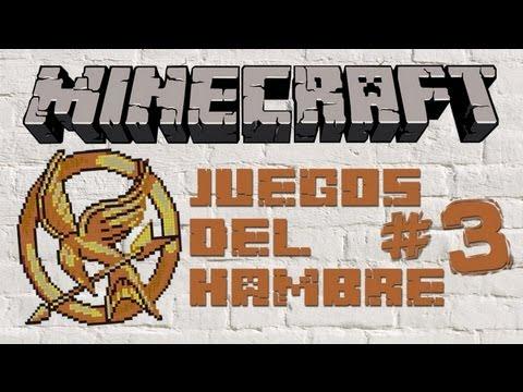 Minecraft - Juegos Del Hambre #3 Fantasmas que atraviesan paredes! xD