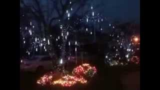 hmonghot com winter lane light flurries outdoor led. Black Bedroom Furniture Sets. Home Design Ideas