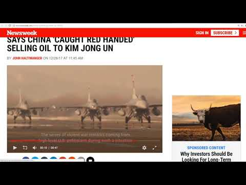North Korea Prepares For Missile Launch-China Caught Red Handed