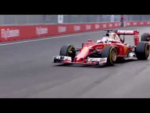 Vettel pass Raikkonen during European GP 2016
