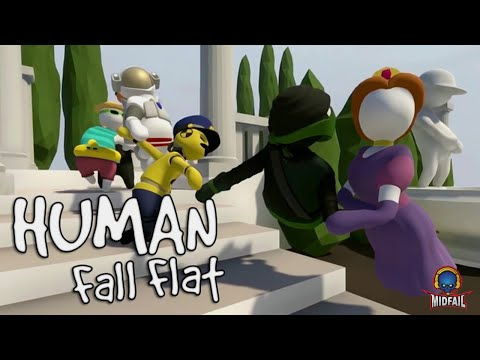 Human Fall Fat | Funny Game Play | Road to 113K Subs(30-08-2019)