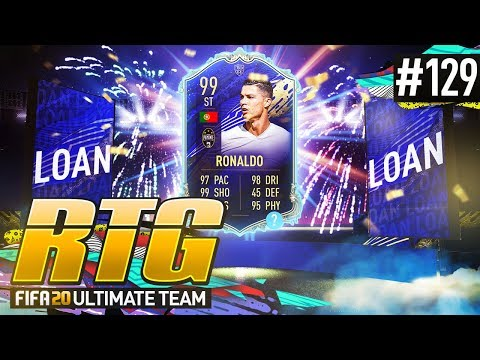 99 TOTY RONALDO IS BROKEN! - #FIFA20 Road to Glory! #129 Ultimate Team