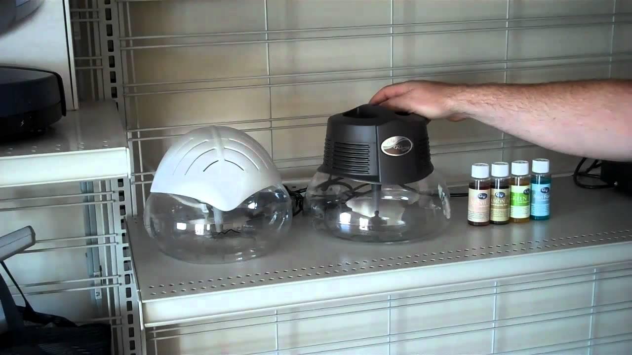 Water Globe Air Purifier Water Air Purifier Humidifier