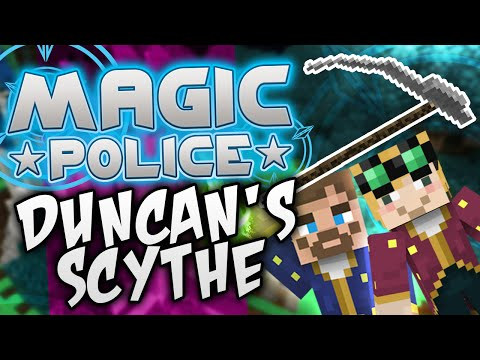 Minecraft Magic Police #79 - Duncan's Scythe (yogscast Complete Mod Pack) video