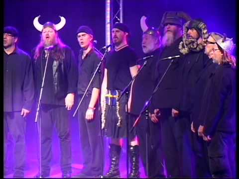 Spooky Mens Chorale - Dancing Queen. Shrewsbury Folk Festival Music Videos