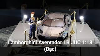Lamborghini Aventador LB JUC 1:18 (Bạc)