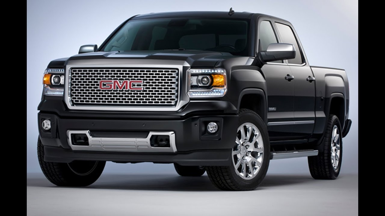 All New 2015 GMC Sierra Denali 6.2L V8: Everything You've ...
