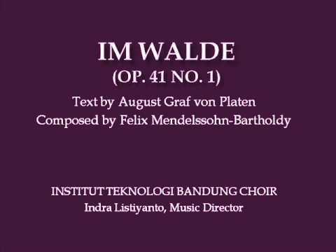 Феликс Мендельсон - Im Walde, Op. 41, No. 1